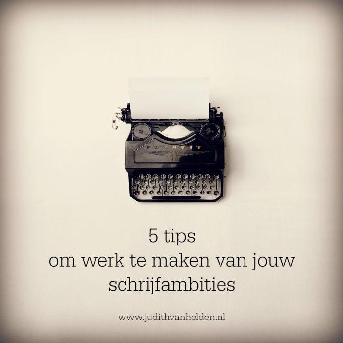 Schrijfambities