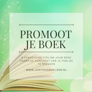 5 tips voor je boekpromotie