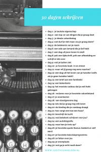 schrijven challenge 1