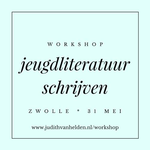 Schrijf je nu in voor de workshop jeugdliteratuur schrijven