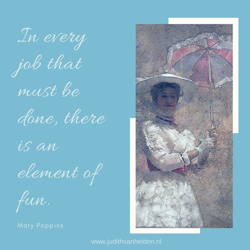 Quote van Mary Poppins