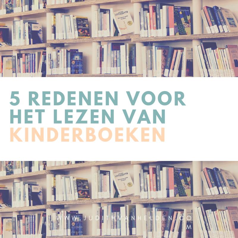 vijf redenen om kinderboeken te lezen
