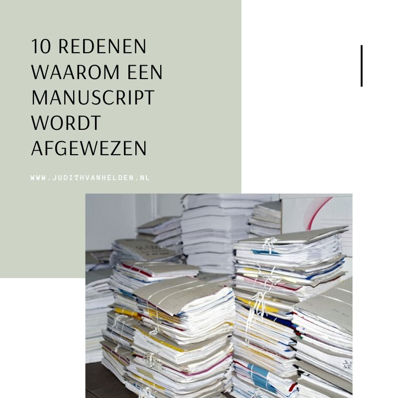 stapel manuscripten